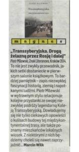 2014.03.06 Dziennik Polski_transsyberyjska